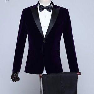 Other - Men's Purple Tuxedo + Pants